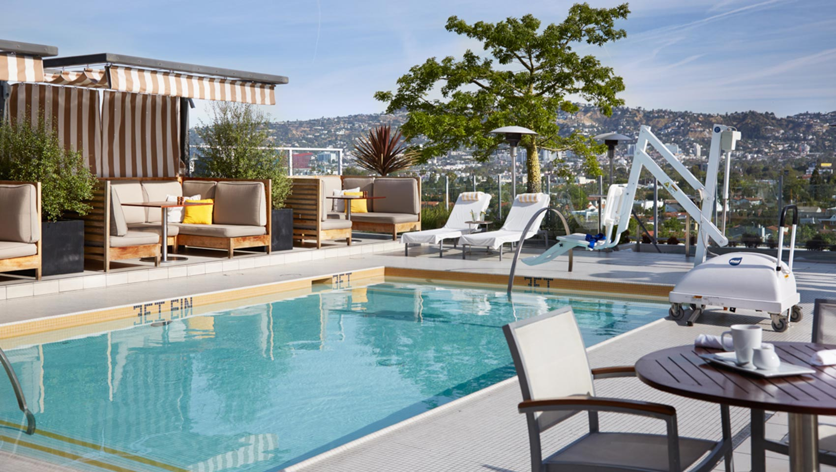 Kimpton Hotel Wilshire accessible hotel pool