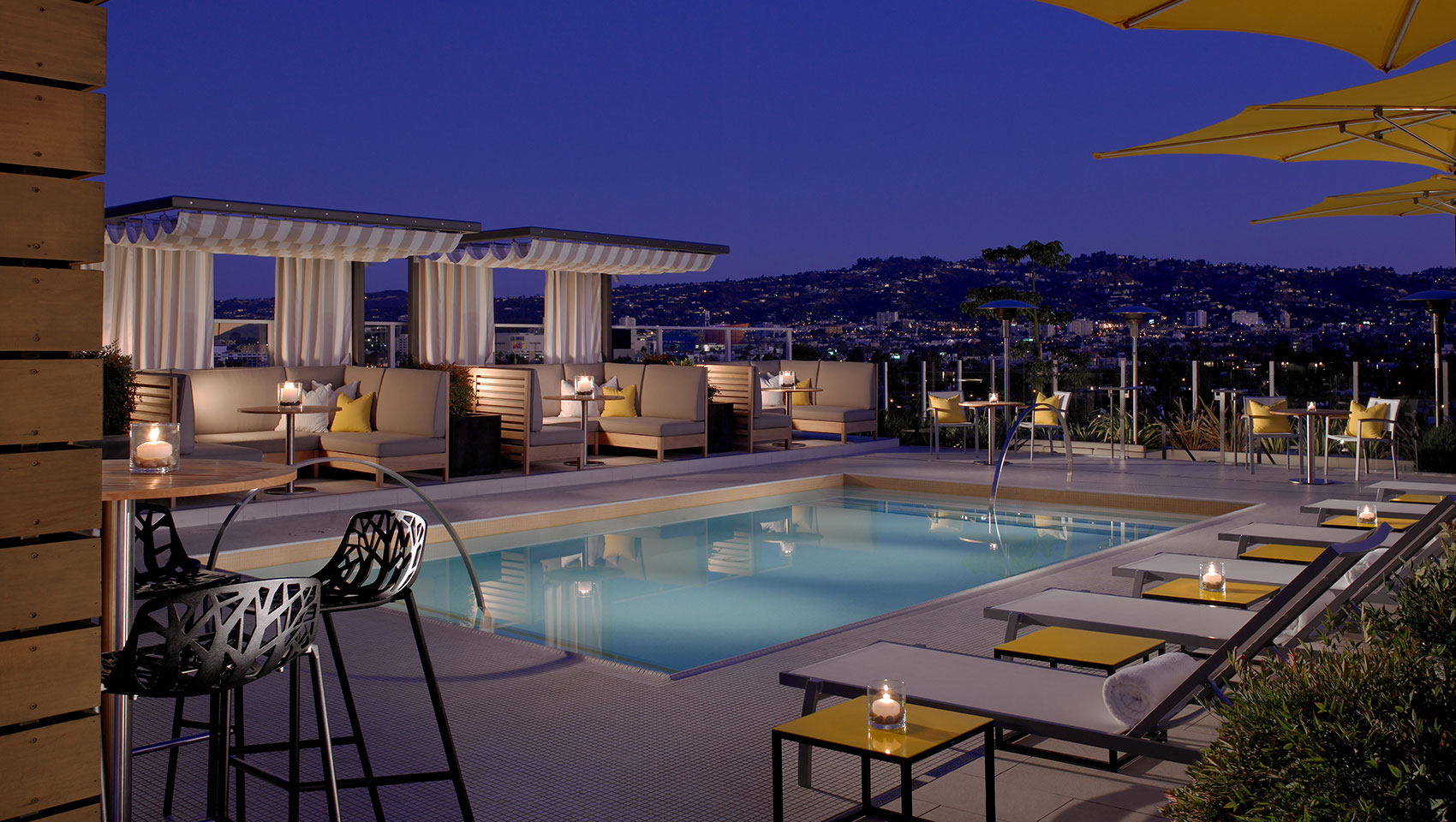 La Hotels With Rooftop Pools Kimpton Hotel Wilshire Los