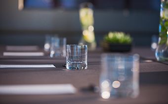 Kimpton Hotel Wilshire meeting space table scape
